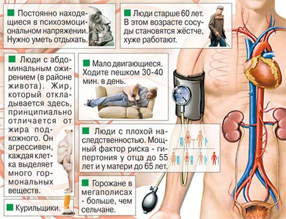 Факторы риска артериальной гипертензии