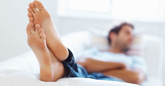 Уход за мужскими ногами