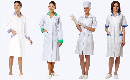 Белая медицинская одежда