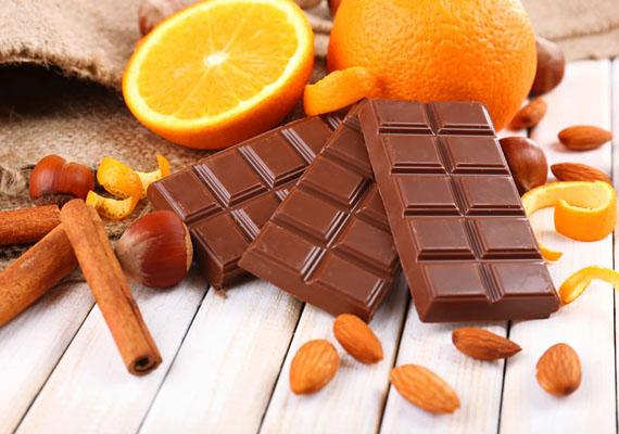 Темный шоколад с апельсином